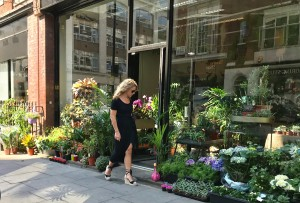 Leaf Lover (florist - its just opened) - Great Titchfield Street